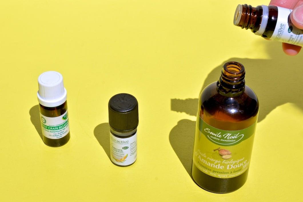 Préparation aux huiles essentielles pour bien dormir