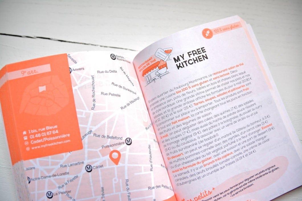 Le livre Paris sans gluten de Delphine Malachard des Reyssiers pour manger sans gluten dans la capitale ! - 22 v'la Scarlett