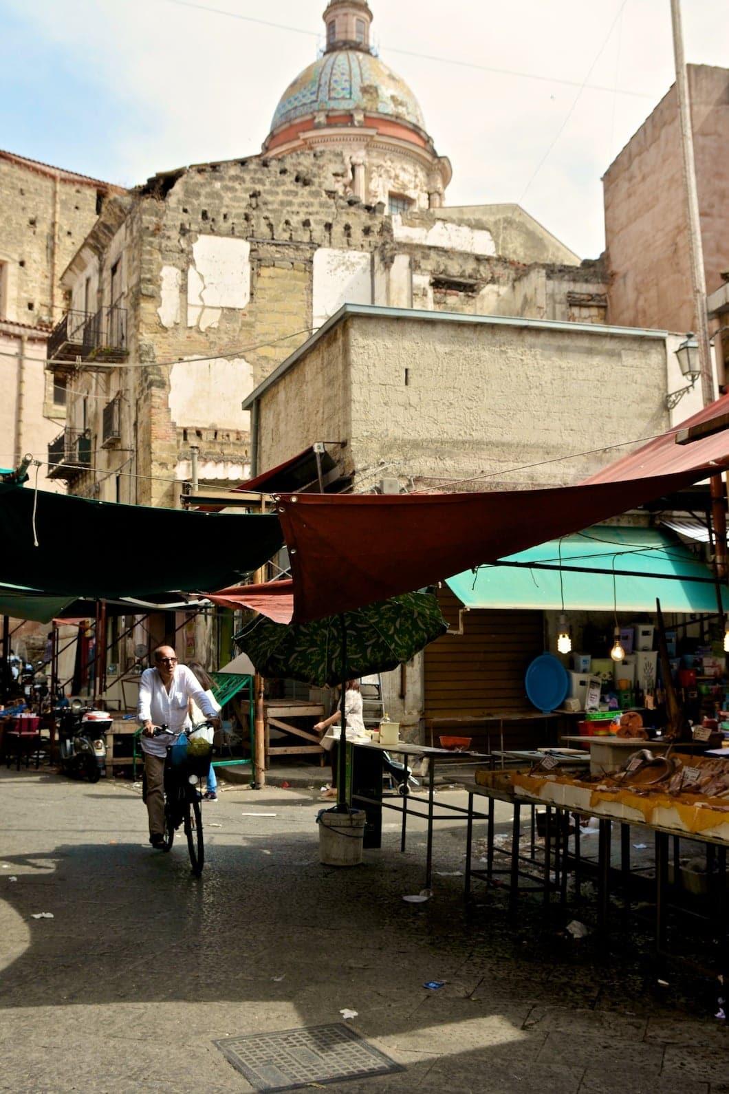 Marché du Ballaro à Palerme en Sicile - 22 v'la Scarlett