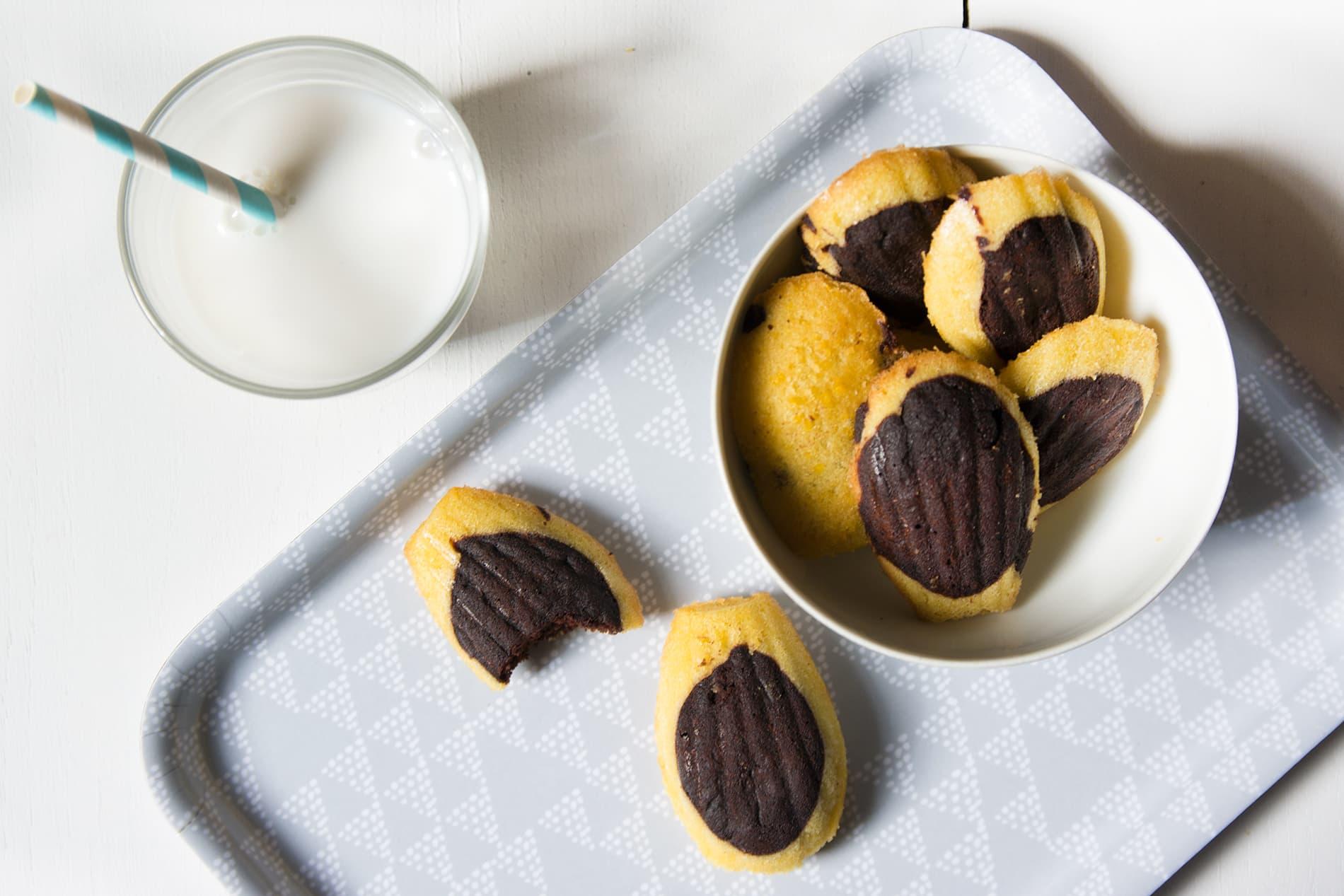 Ma recette de madeleines au chocolat sans gluten et sans lactose - 22 v'la Scarlett
