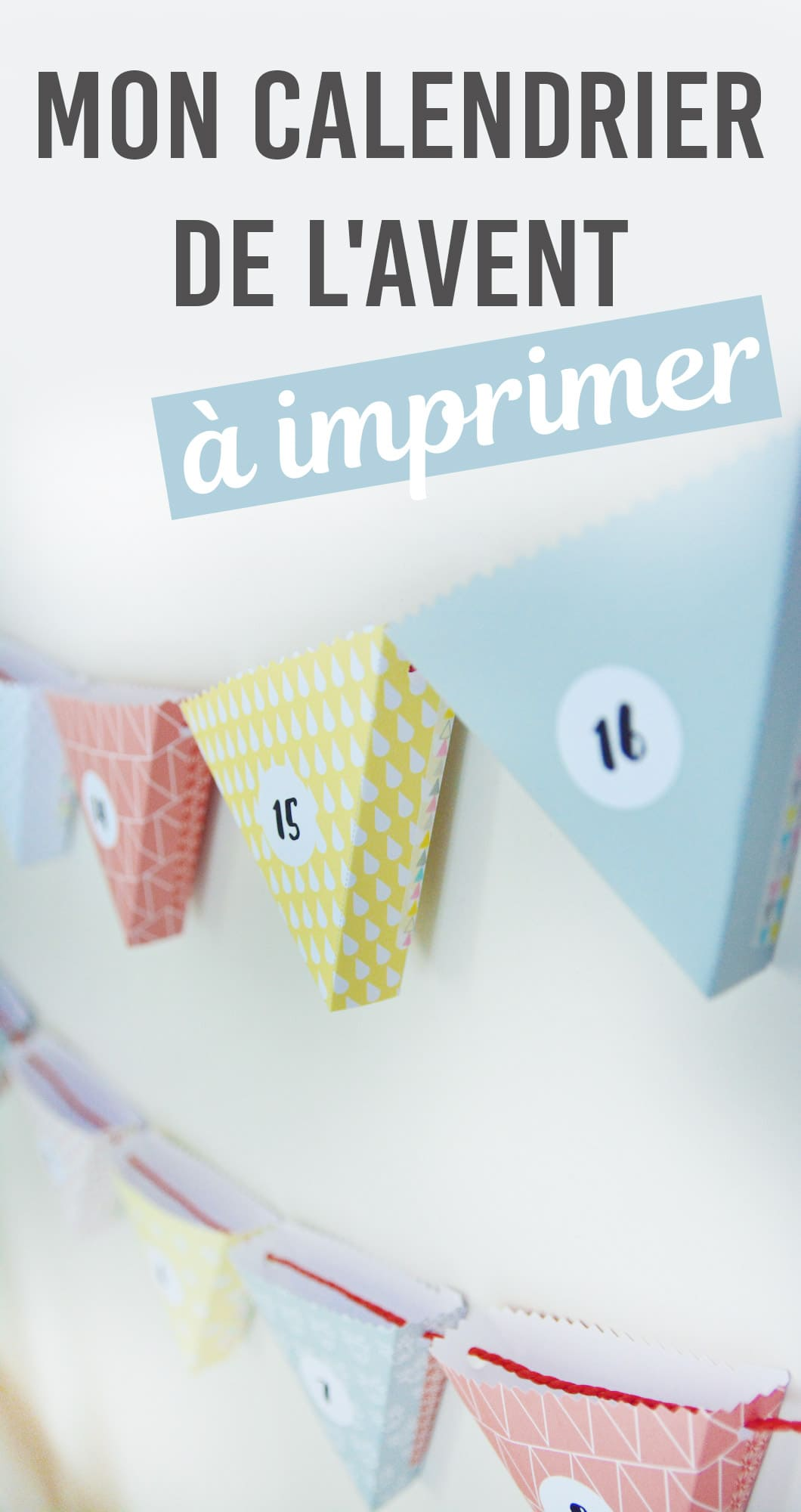 diy mon calendrier de l 39 avent imprimer 22 v la. Black Bedroom Furniture Sets. Home Design Ideas