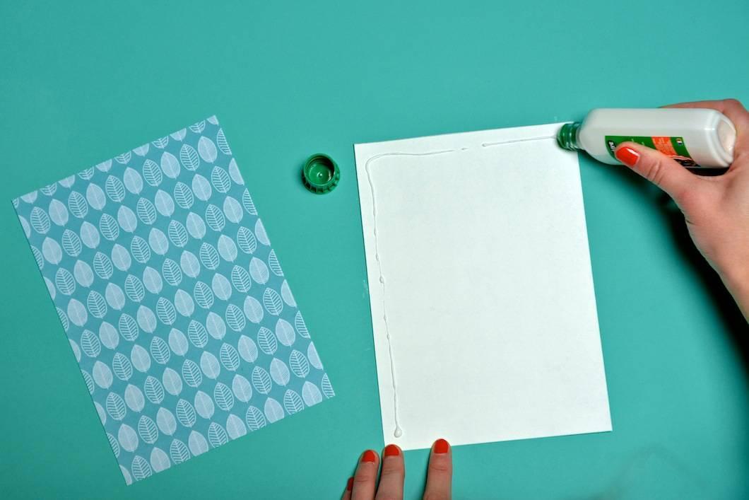 DIY : coller les couvertures de votre agenda 2017 - 22 v'la Scarlett