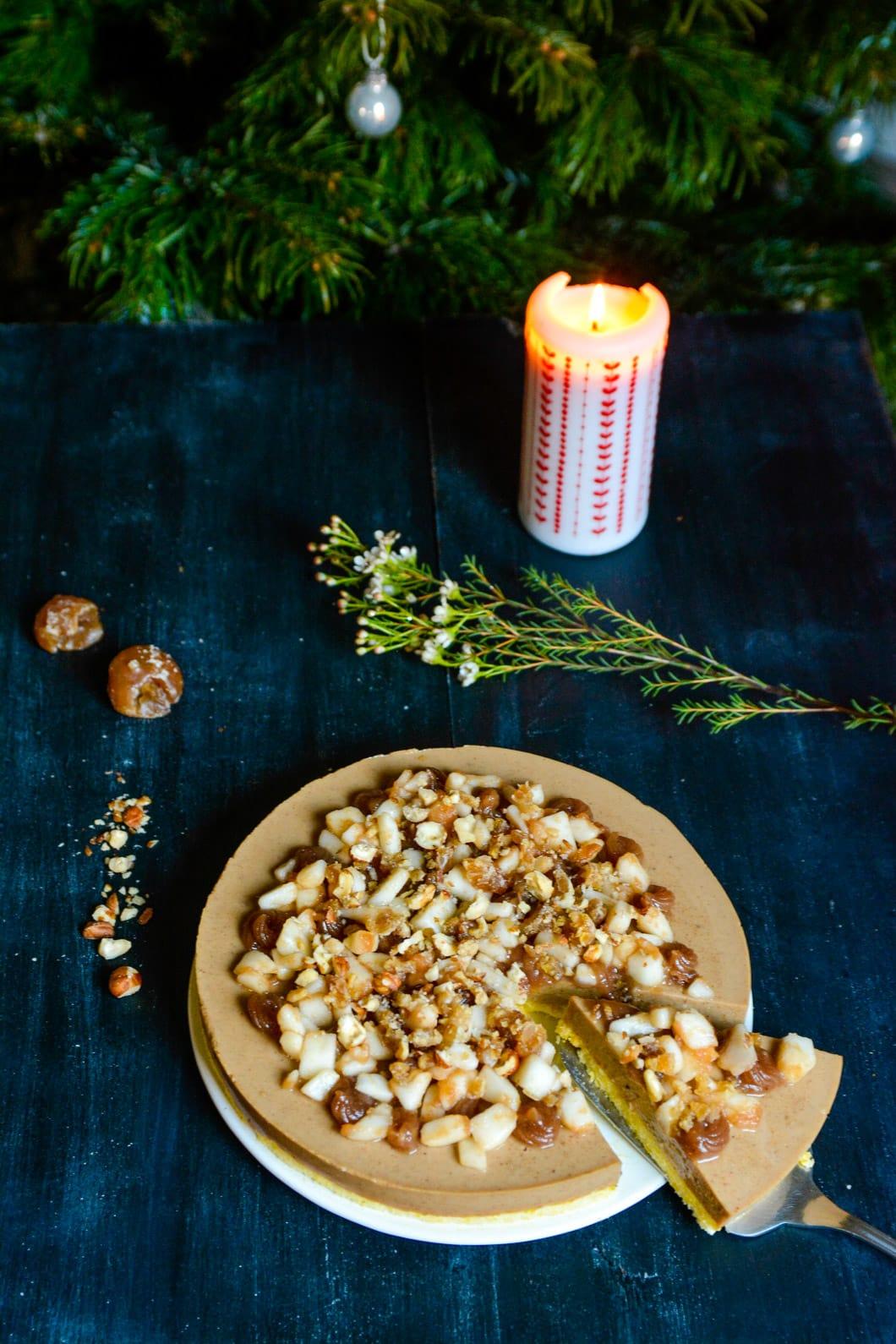 Ma recette sans gluten et sans lactose pour Noël : un entremet à la crème de marrons et aux noisettes - 22 v'la Scarlett
