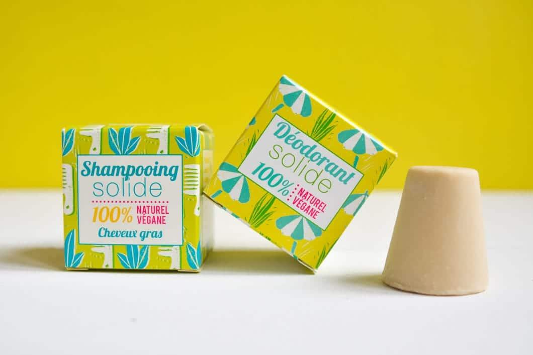 Le shampoing solide cheveux gras et le déodorant solide de Lamazuna - 22 v'la Scarlett