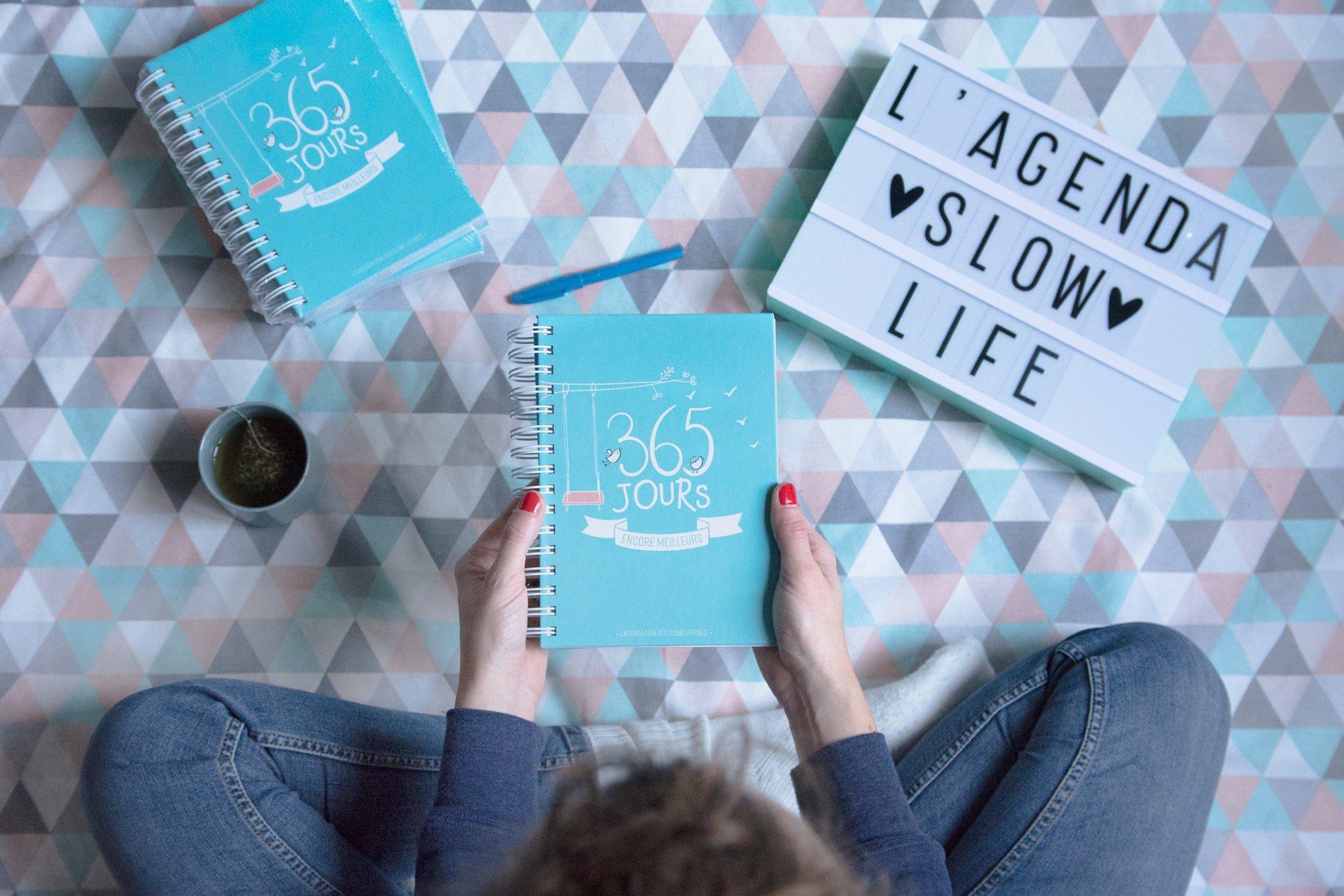 L'agenda 2018 pour une année Slow Life !