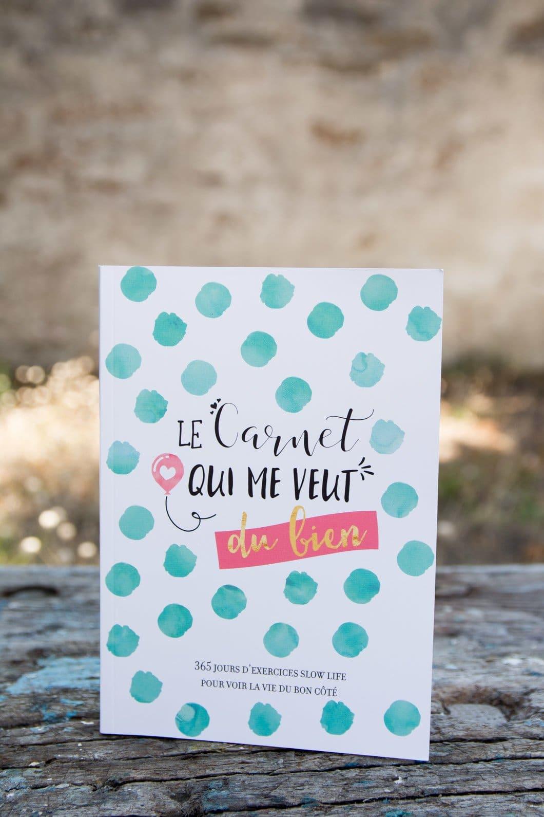Le carnet qui me veut du bien : 365 jours d'exercices Slow Life pour voir la vie du bon côté - 22 v'la Scarlett
