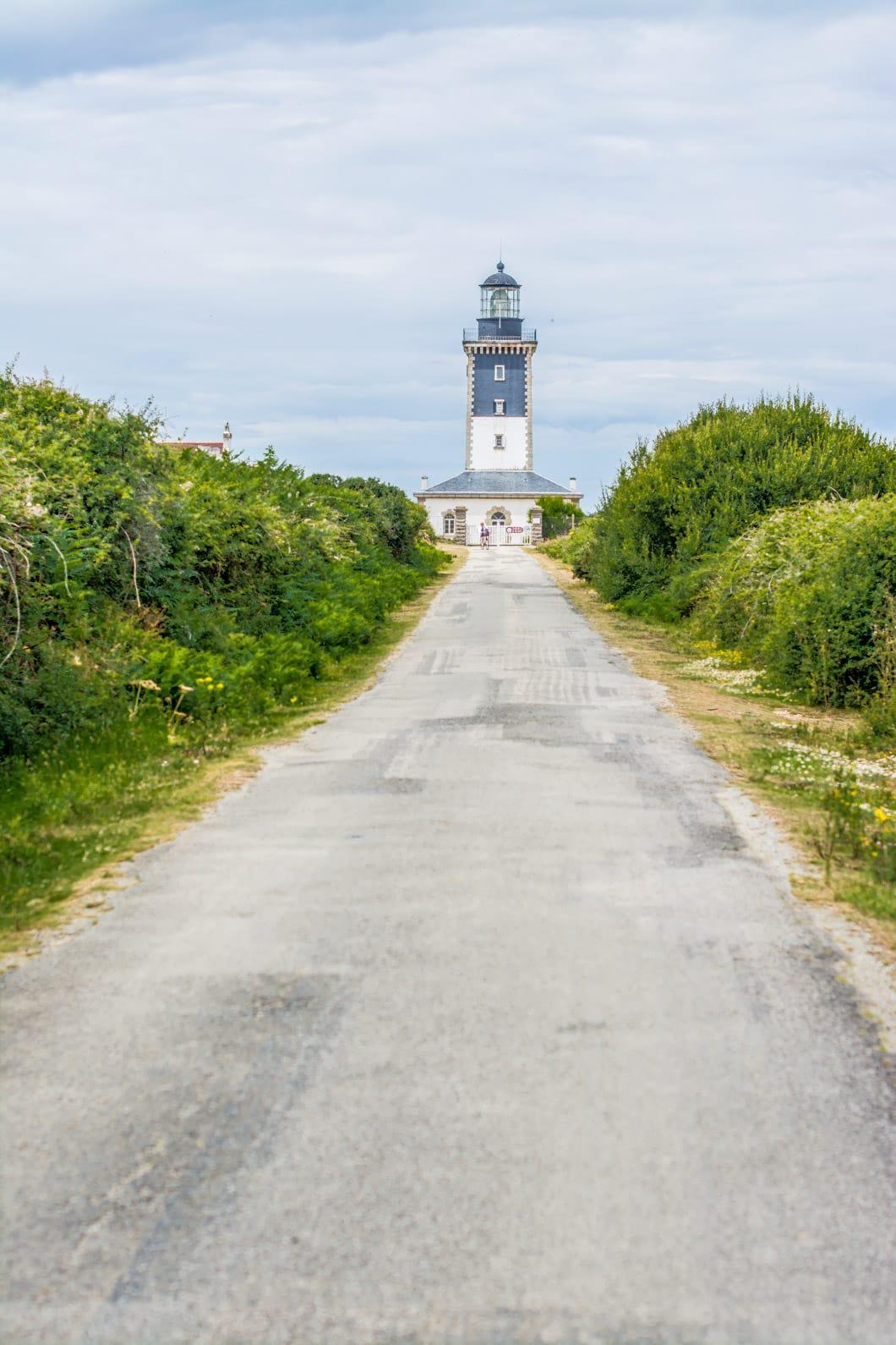 Le grand phare de l'île de Groix en Bretagne - 22 v'la Scarlett