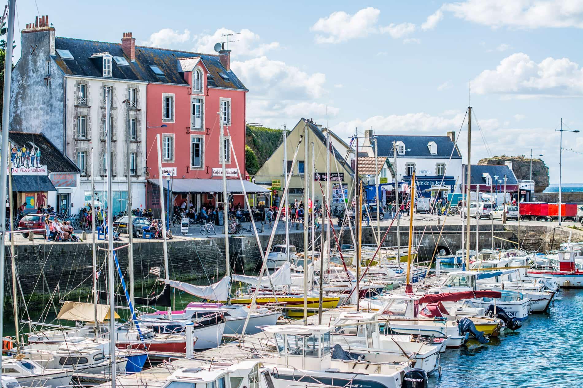 Une journée à vélo sur l'île de Groix en Bretagne
