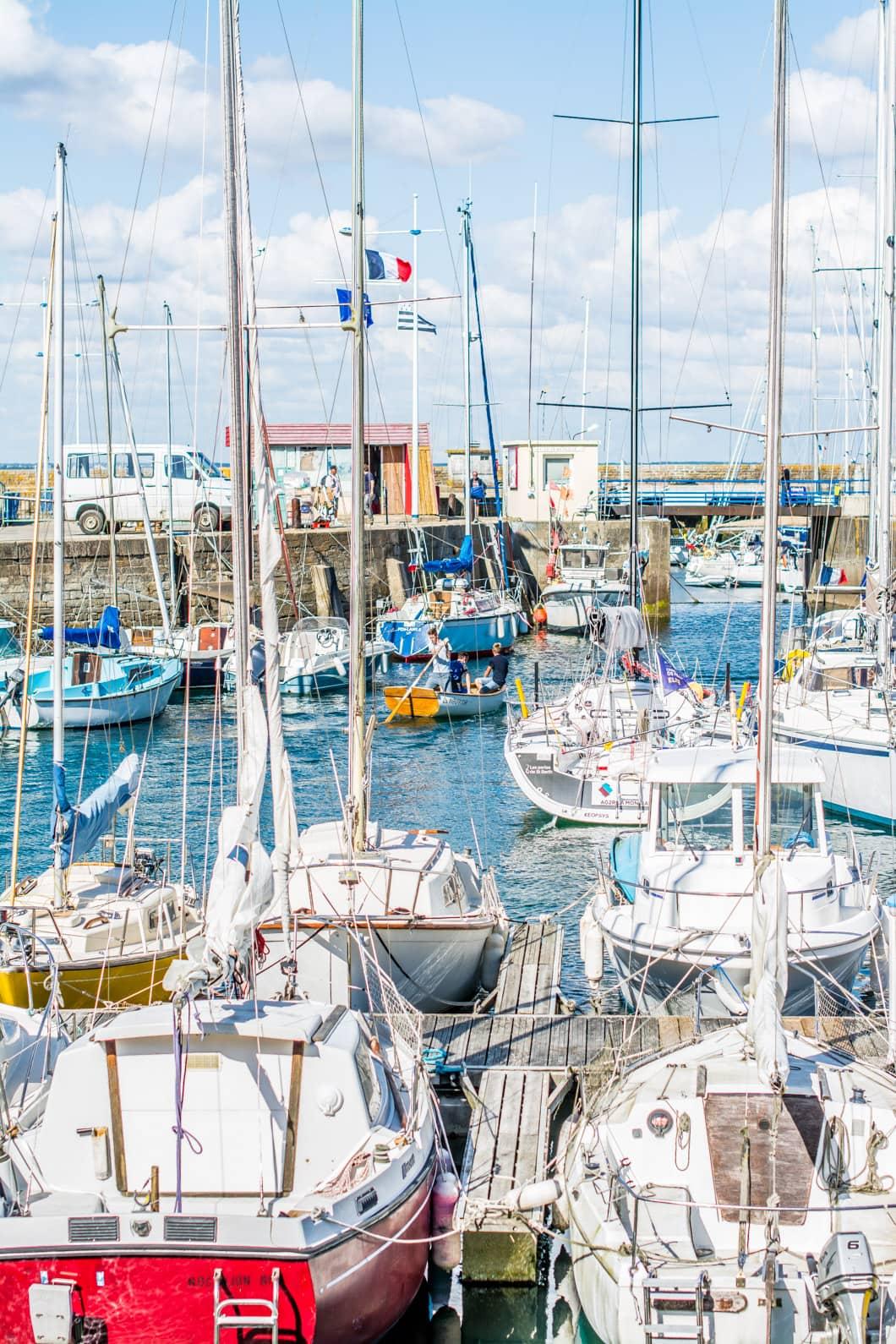Port Tudy sur l'île de Groix en Bretagne - 22 v'la Scarlett