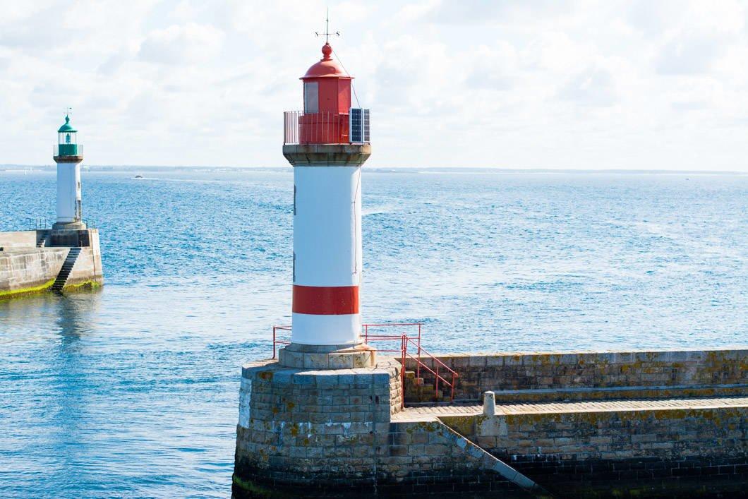 Le phare de Port Tudy sur l'île de Groix en Bretagne - 22 v'la Scarlett