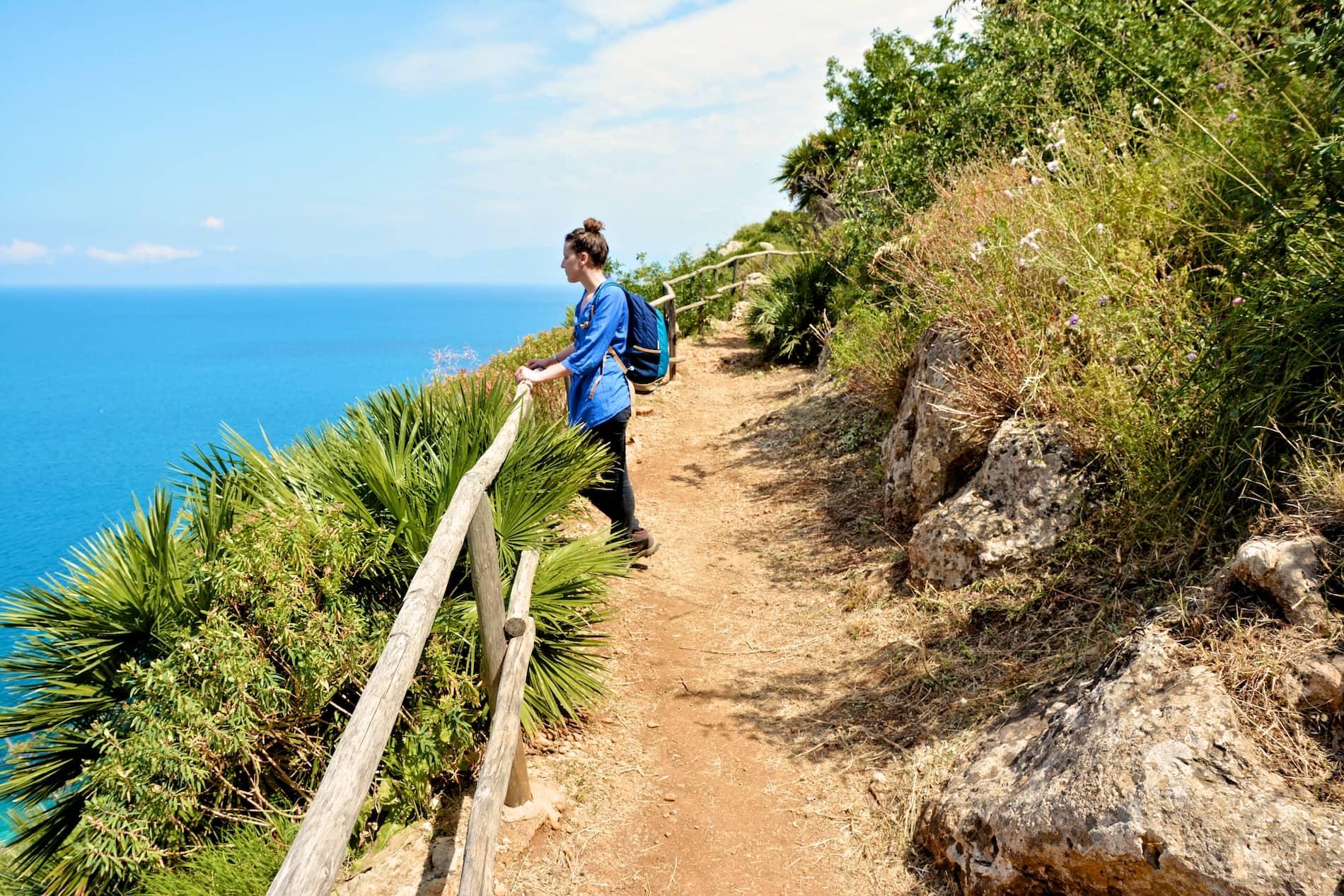 La réserve naturelle du Zingaro en Sicile : randonnée au paradis