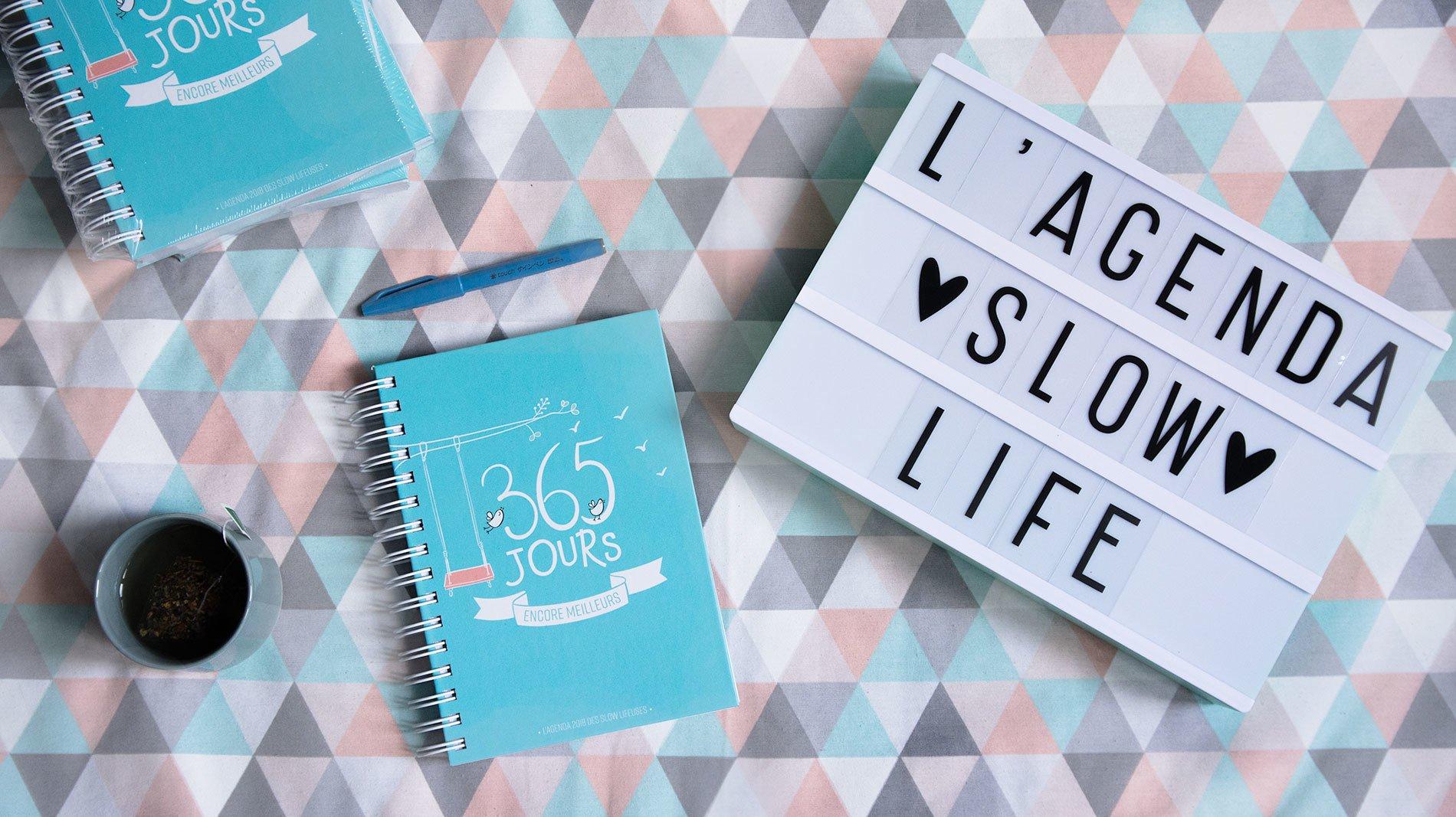 L'agenda 2018 pour une année Slow Life : comment j'ai perdu 5 kilos en m'auto-éditant
