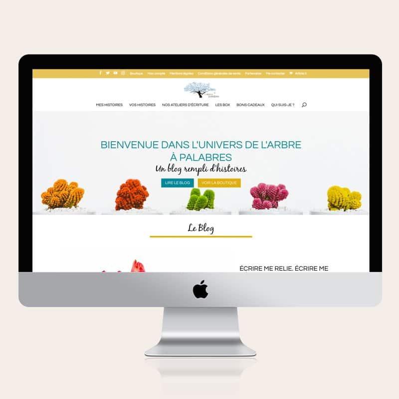 Site internet L'Arbre à Palabres - Par 22 v'la Scarlett