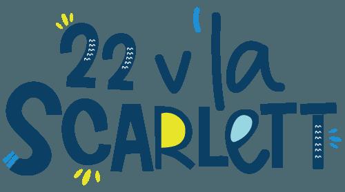 Logo - 22 v'la Scarlett