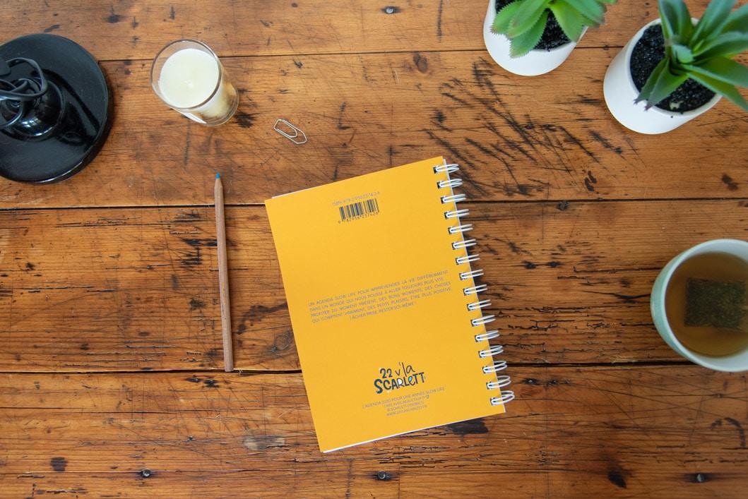 L'agenda 2020 qui me veut du bien : ✦ Slow Life ✦ Gratitudes ✦ Citations positives ✦ Développement personnel - 22 v'la Scarlett
