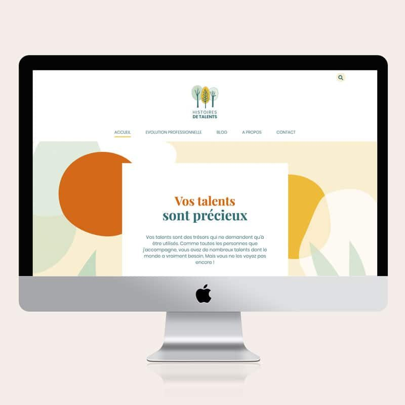 Site internet Histoires de talents - Par 22 v'la Scarlett
