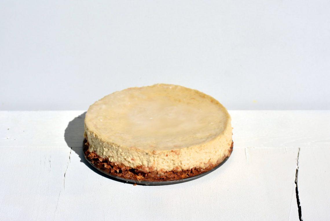 Mousse à la banane et au lait de coco façon cheesecake, sur un biscuit croustillant aux noix de pécan, à l'huile de coco et au chocolat - 22 v'la Scarlett