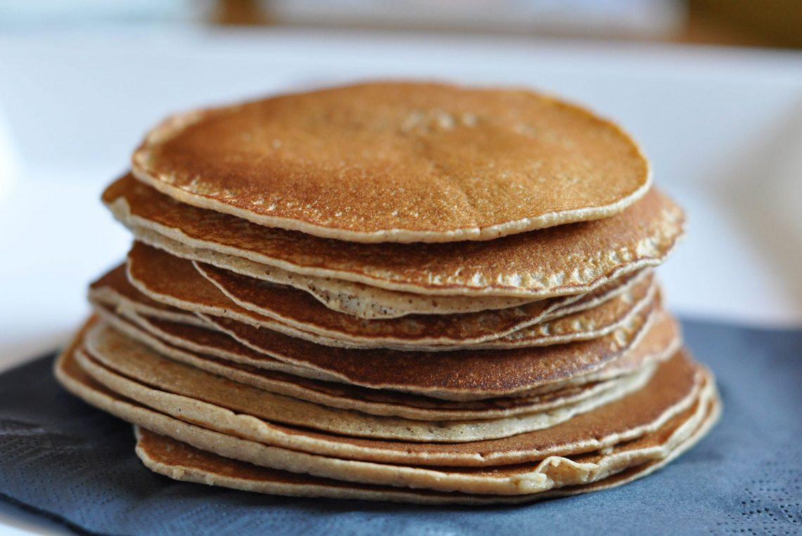 Pancakes à la châtaigne sans gluten et sans lait - 22 v'la Scarlett