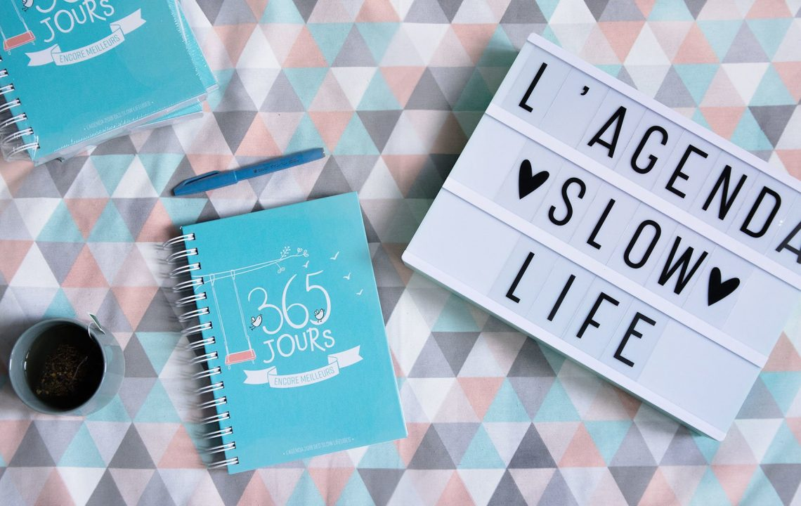 L'agenda 100% Slow Life 2018 - Les Slow Lifeuses par 22 v'la Scarlett