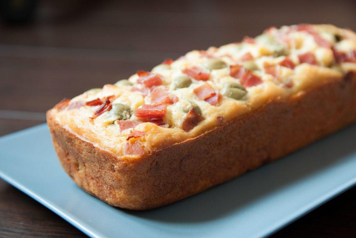 Recette cake jambon olives sans gluten, sans lait - 22 v'la Scarlett