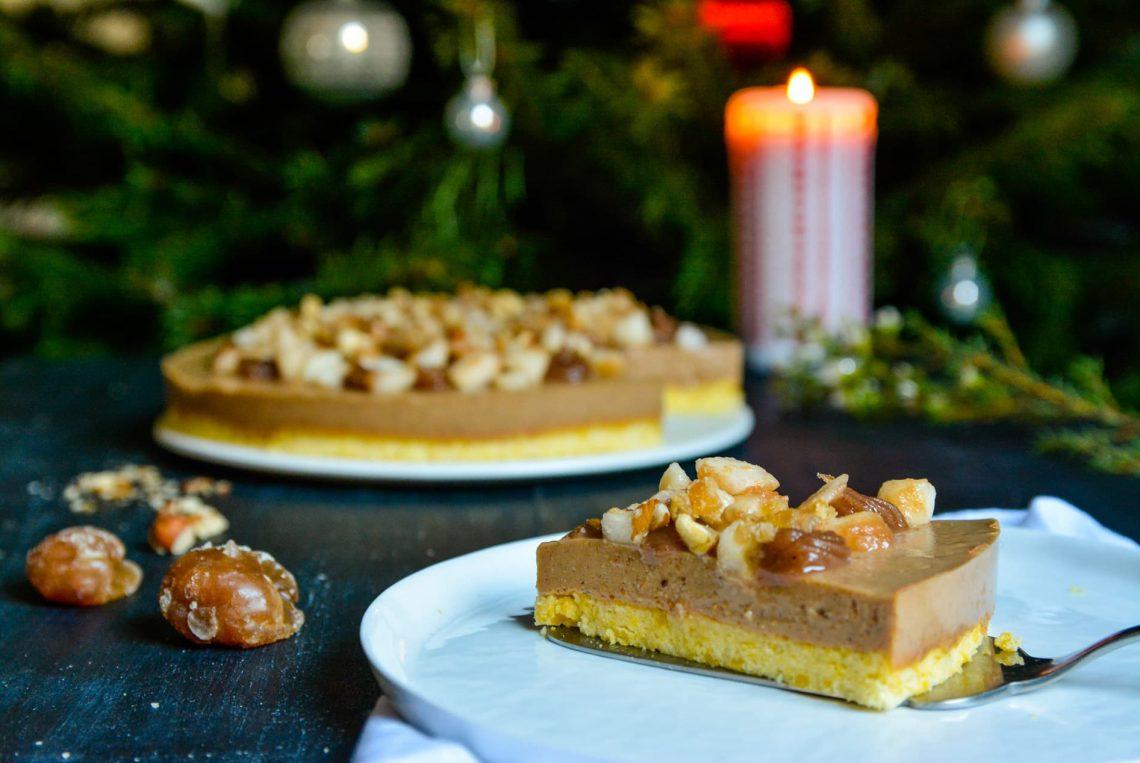 Ma recette sans gluten et sans lactose pour Noël : un bavarois à la crème de marrons et aux noisettes - 22 v'la Scarlett