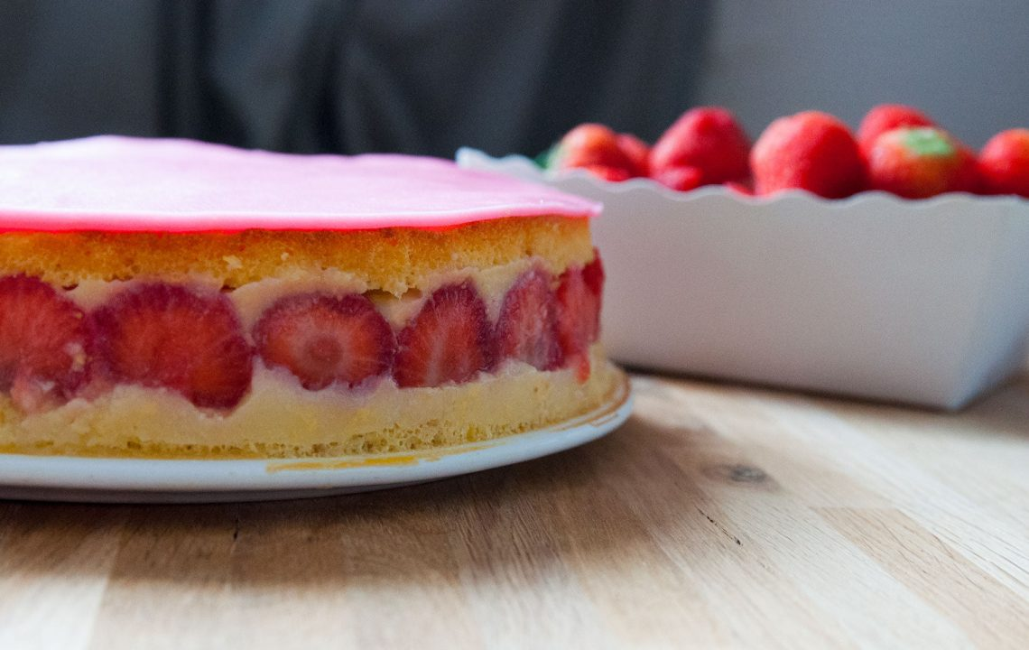 Ma recette de fraisier sans gluten sans lactose - 22 v'la Scarlett