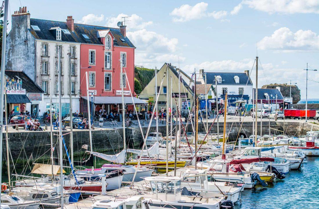 Une journée sur l'île de Groix en Bretagne - 22 v'la Scarlett