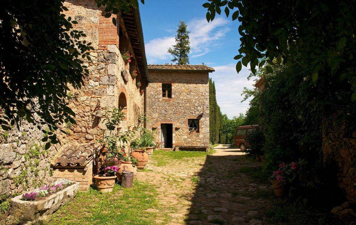 Agriturismo Novelleto dans la vallée du Chianti en Toscane - 22 v'la Scarlett