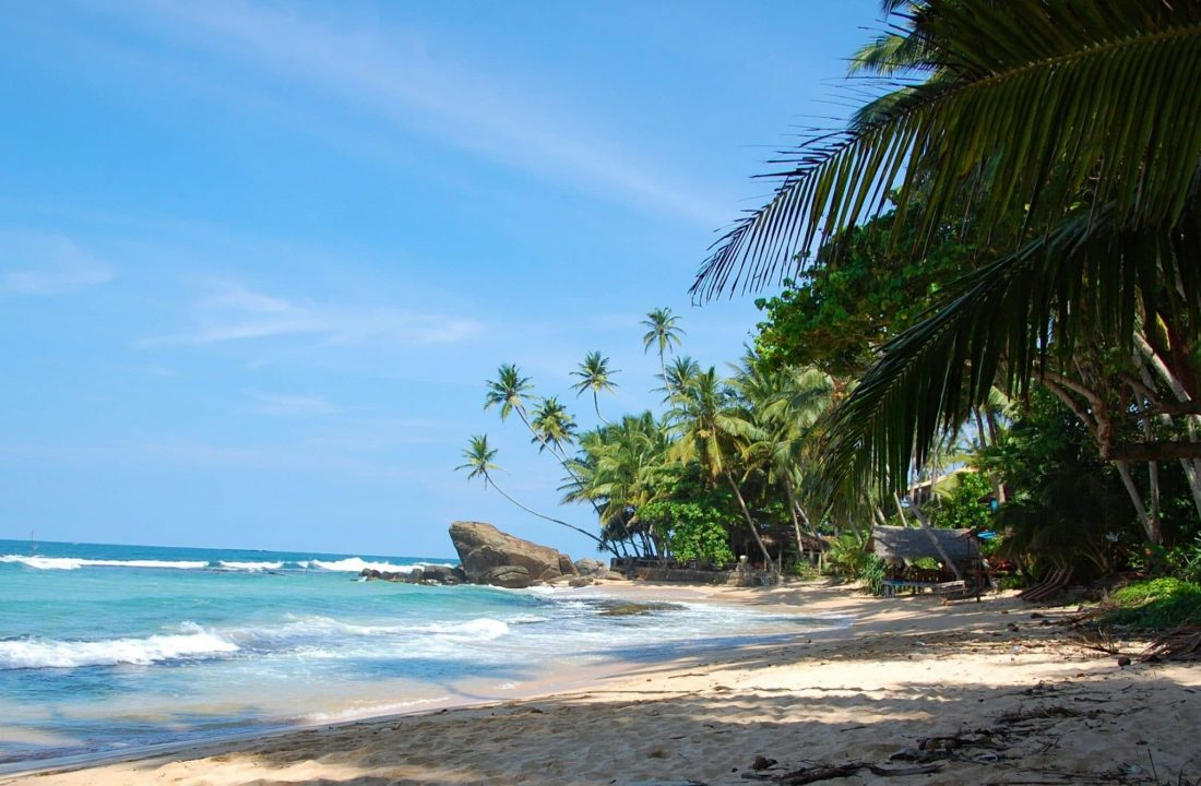 Plage vers Unawatuna au Sri Lanka - 22 v'la Scarlett